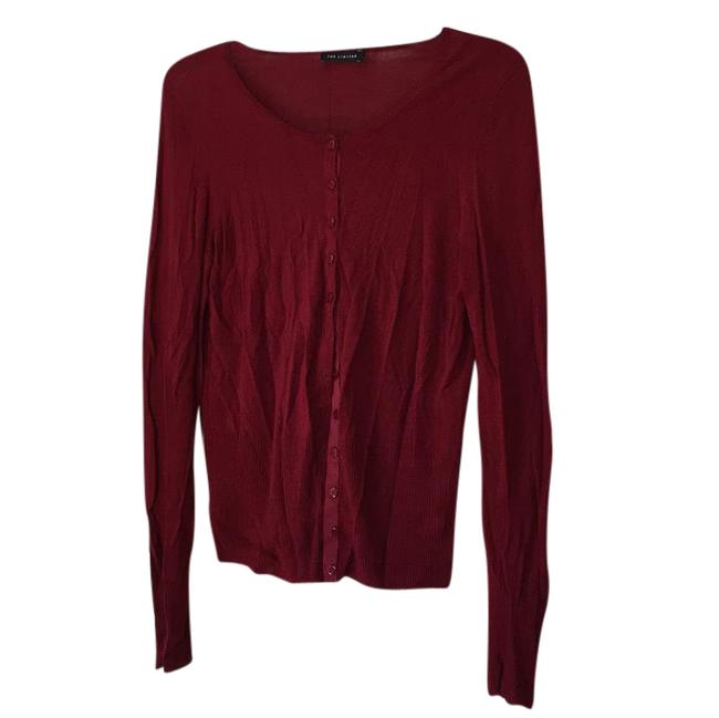 Preload https://item1.tradesy.com/images/the-limited-raspberry-506281-cardigan-size-12-l-21552165-0-1.jpg?width=400&height=650