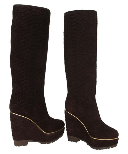 Sergio Rossi DARK BROWN Boots