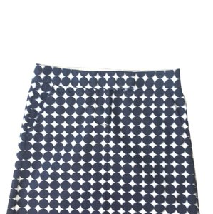 J.Crew Skirt Navy/White