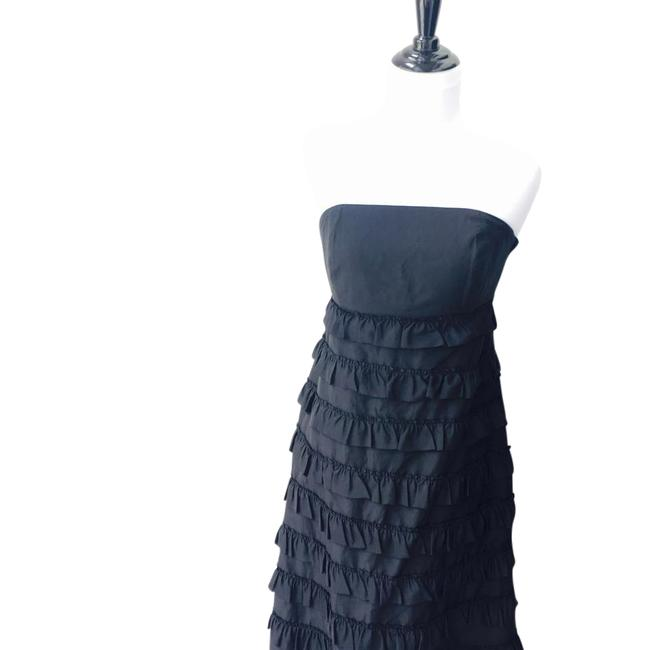Preload https://img-static.tradesy.com/item/21552207/gap-black-ruffle-mid-length-cocktail-dress-size-4-s-0-1-650-650.jpg