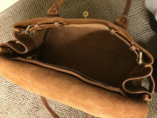 Mulberry Tote in Brown/ Oak