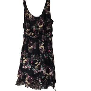 CAbi short dress floral on Tradesy