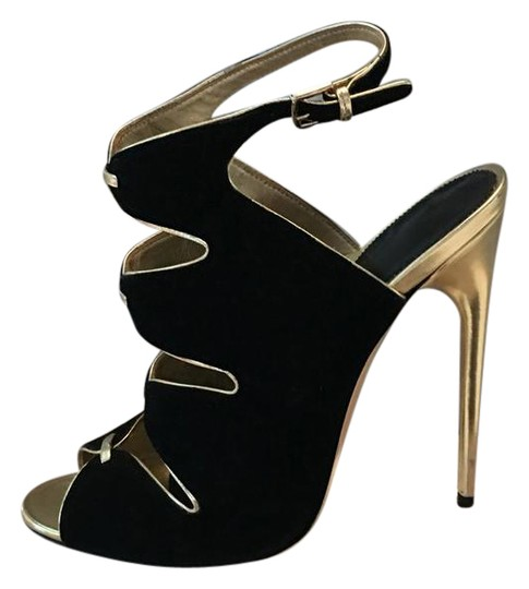 Tom Ford black gold Pumps