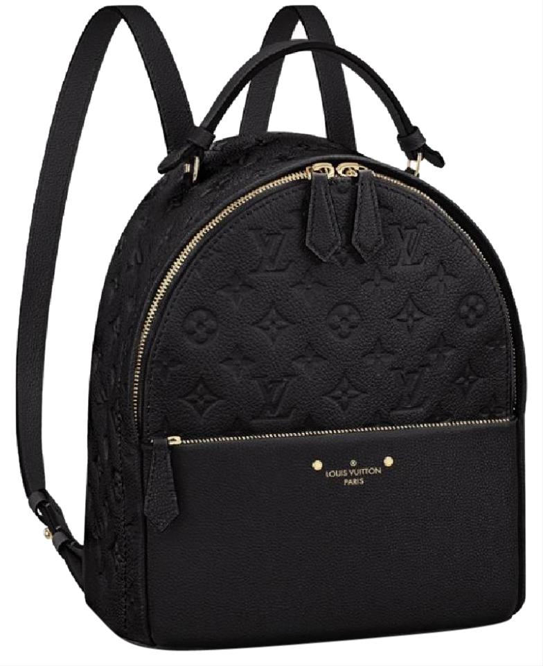 8309044c14e35c Louis Vuitton Empreinte Black Embossed Leather Backpack - Tradesy