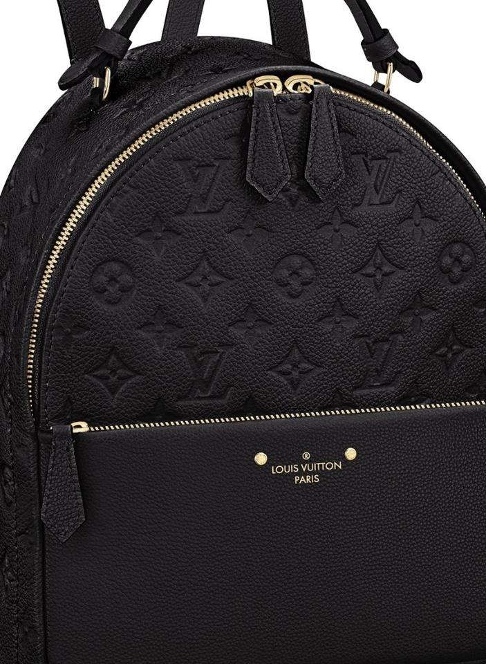 139b6cd028ba Louis Vuitton Empreinte Black Embossed Leather Backpack - Tradesy