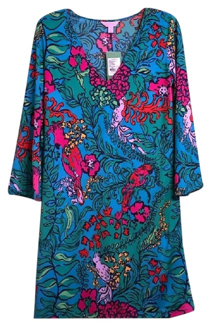 Preload https://img-static.tradesy.com/item/21552368/lilly-pulitzer-multi-color-jade-multi-shake-your-tail-feather-tunic-short-casual-dress-size-4-s-0-2-650-650.jpg
