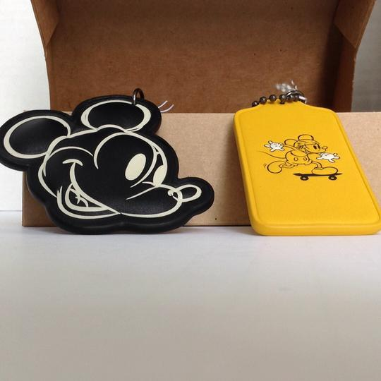 Coach MICKEY COLLECTORS HANGTAG SET. SOLD OUT ALMOST EVERYWHERE!