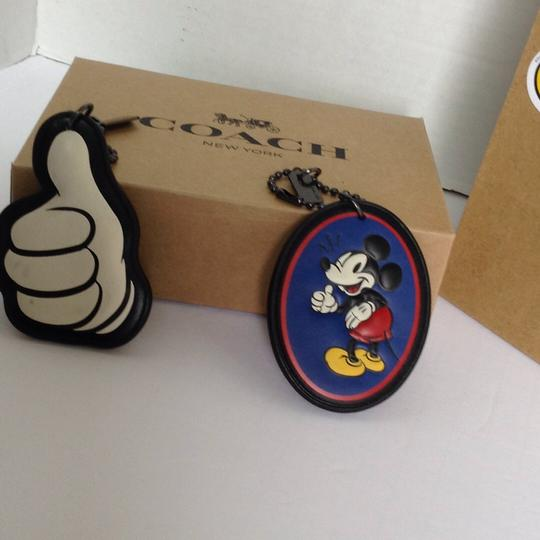 Coach MICKEY LEATHER HANGTAG SET