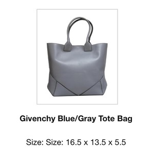 Givenchy Tote in Blue/Gray