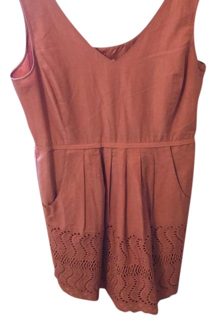 Preload https://item3.tradesy.com/images/jcrew-peach-mid-length-workoffice-dress-size-6-s-21552652-0-1.jpg?width=400&height=650