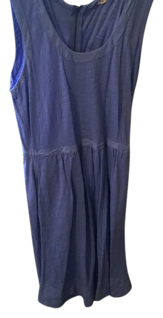 J.Crew short dress blue color on Tradesy