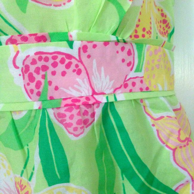 Lilly Pulitzer Preppy Palm Top green
