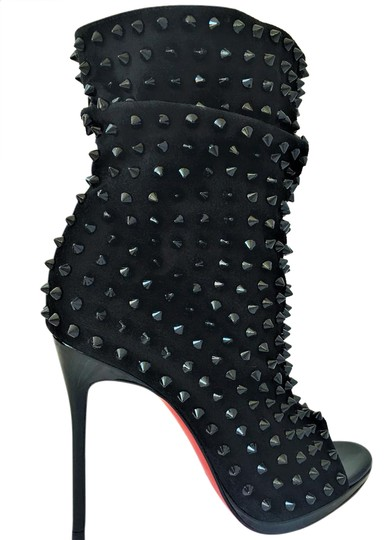 Preload https://img-static.tradesy.com/item/21552721/christian-louboutin-black-ankle-guerilla-345-it-spike-stud-platform-high-heel-alti-lady-fashion-toe-0-1-540-540.jpg