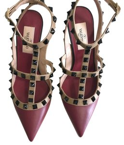 Valentino Sling Red Pumps