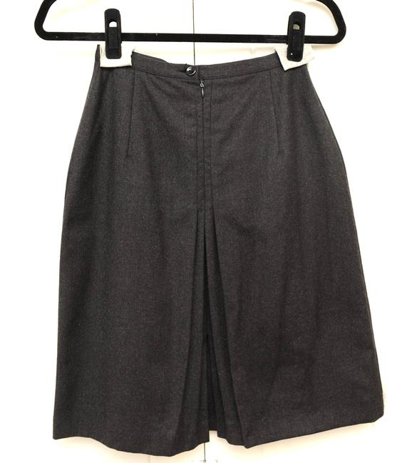 Other Wool A Line Skirt gray