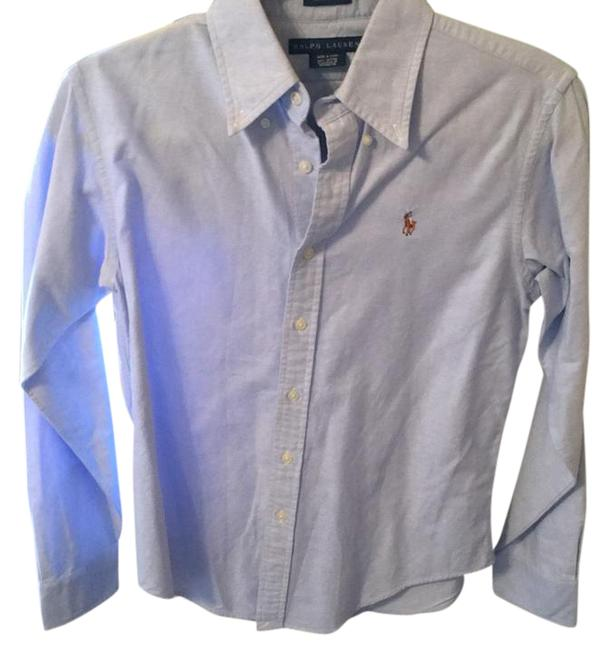 Preload https://img-static.tradesy.com/item/21552994/ralph-lauren-shirt-button-down-top-size-8-m-0-1-650-650.jpg