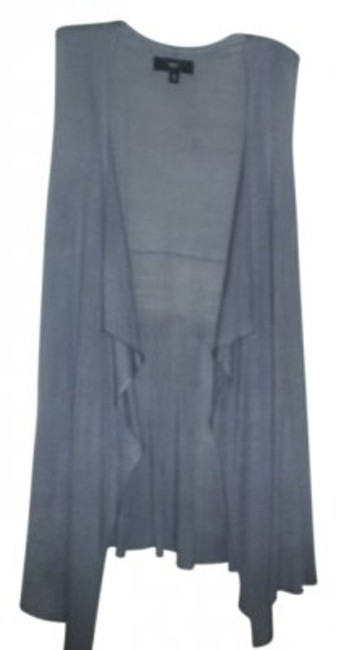 Preload https://item4.tradesy.com/images/mossimo-supply-co-gray-sleeveless-vest-cardigan-size-12-l-21553-0-0.jpg?width=400&height=650