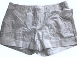 Joie Cargo Painter Cuffed Shorts white