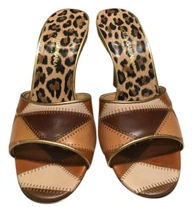 Dolce&Gabbana Leather Brown Sandals