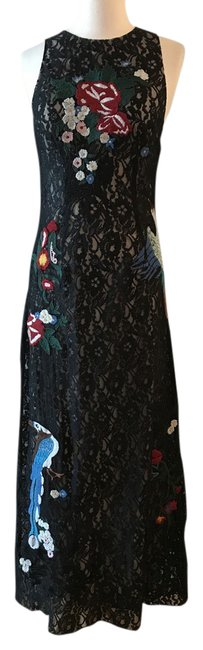 Preload https://img-static.tradesy.com/item/21553158/alice-olivia-black-aliceolivia-lace-embroidered-birds-and-flowers-maxi-gown-long-formal-dress-size-6-0-1-650-650.jpg
