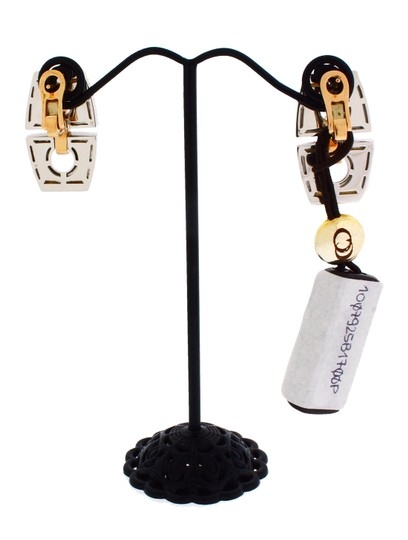 Chimento Chimento Sigilli dangle citrine earrings in 18k yellow gold.