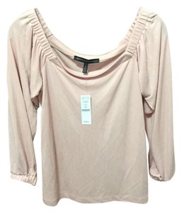 White House | Black Market Top light pink