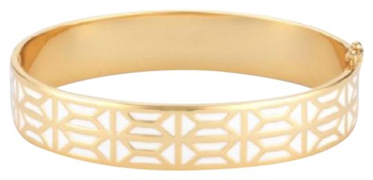 Preload https://item2.tradesy.com/images/stella-and-dot-white-and-gold-breezeblock-enamel-bangle-bracelet-21553206-0-1.jpg?width=440&height=440