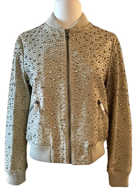 Preload https://item5.tradesy.com/images/alice-olivia-champagne-aliceolivia-demia-embellished-leather-cropped-bomber-size-6-s-21553209-0-1.jpg?width=400&height=650