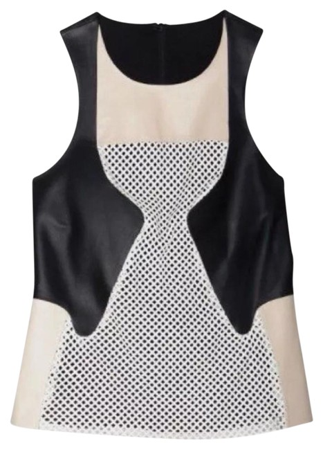 Preload https://item3.tradesy.com/images/ohne-titel-leather-mesh-tank-topcami-size-4-s-21553272-0-1.jpg?width=400&height=650