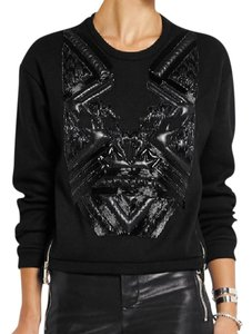 Versace Beaded Cropped Embellished Sweater