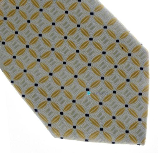 Yellow Silver Silk Classic Lot Of 10 Tie/Bowtie Image 1