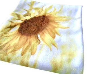 White and Yellow Sunflower Case Honeymoon Decor Other