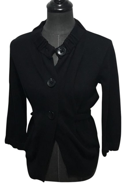 Preload https://item2.tradesy.com/images/vince-black-cardigan-size-4-s-21553456-0-1.jpg?width=400&height=650