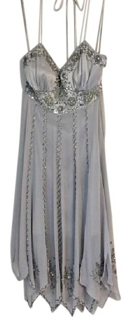 Preload https://item5.tradesy.com/images/sue-wong-silver-mid-length-cocktail-dress-size-2-xs-21553459-0-1.jpg?width=400&height=650