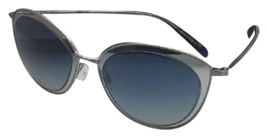 Preload https://item2.tradesy.com/images/oliver-peoples-gwynne-1178-s-50634l-brushed-silver-and-blue-wblue-fade-sunglasses-21553486-0-1.jpg?width=440&height=440