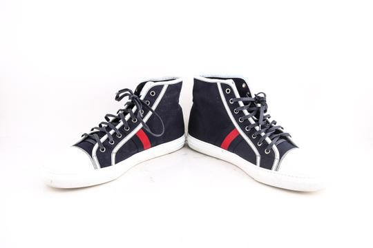 Gucci * Blue High Top Trainers Sneaker Shoes