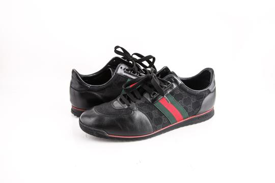 Preload https://item4.tradesy.com/images/gucci-black-web-stripe-sneakers-shoes-21553573-0-0.jpg?width=440&height=440