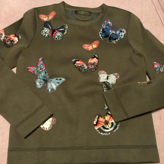 Preload https://img-static.tradesy.com/item/21553702/valentino-olive-scuba-with-butterfly-detail-sweatshirthoodie-size-6-s-0-0-650-650.jpg