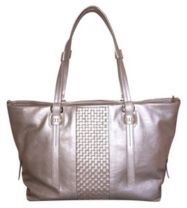 Cole Haan Brennan Napa Leather Tote in Maple Sugar