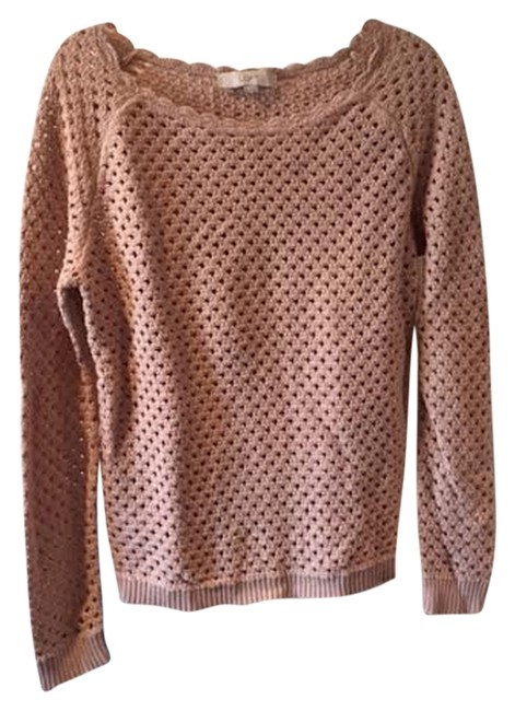 Preload https://img-static.tradesy.com/item/2155384/ann-taylor-loft-x-light-pink-sweater-0-0-650-650.jpg