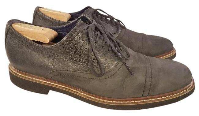 Item - Black(Charcoal) Man with Nike Air Technology Captoe Oxfords Shoes