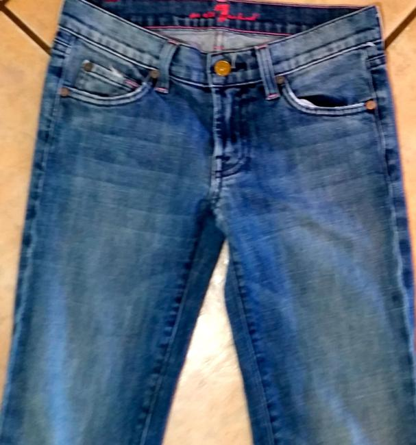 7 For All Mankind P2142 Size 25 Boot Cut Jeans