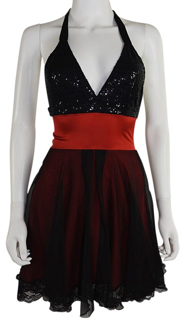 Preload https://item2.tradesy.com/images/lisa-nieves-black-red-sequin-and-chiffon-short-cocktail-dress-size-6-s-21553941-0-1.jpg?width=400&height=650