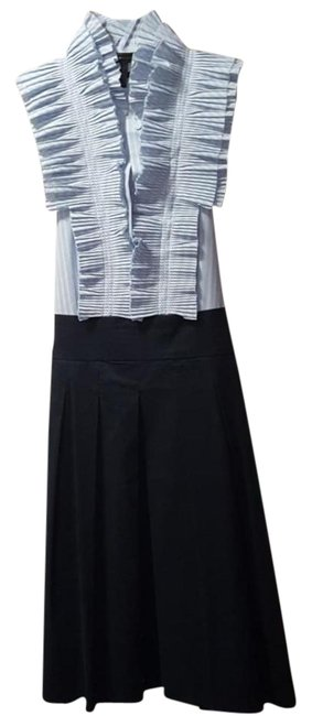 Preload https://img-static.tradesy.com/item/21553942/bcbgmaxazria-navy-navywhite-slp6c536-idbt136gm-short-casual-dress-size-4-s-0-3-650-650.jpg