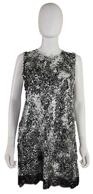 Preload https://item5.tradesy.com/images/lisa-nieves-black-and-white-sequin-short-cocktail-dress-size-8-m-21553979-0-2.jpg?width=400&height=650