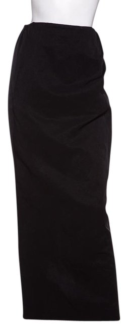 Preload https://item5.tradesy.com/images/the-row-black-fitted-maxi-skirt-size-4-s-27-21553994-0-1.jpg?width=400&height=650