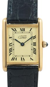 Cartier SALE! Cartier Tank de Must Unisex gold
