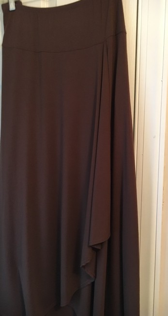 Theory Bohemian Hipster Maxi Skirt Brown