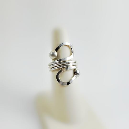 Other Sterling Wrap Swirl Ring Size 6