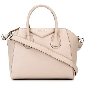 bd18e5627ac8 Givenchy Antigona Sugar Small Nude Pink Leather Satchel - Tradesy